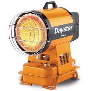 InfraRed Diesel Heater Daystar