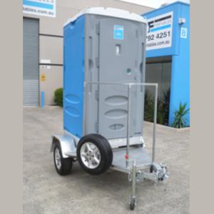 Portable Toilet Trailer Mounted