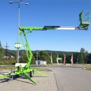 Mobile Hydraulic Platform 10.2m – Towable