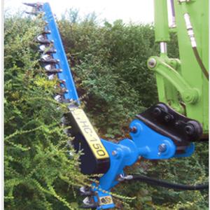 Excavator – Hedge Trimmer Attachment