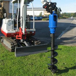 Excavator – Auger Drive Attachment