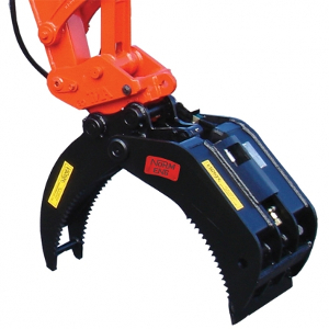 Excavator – Rock Grab Attachment