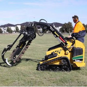 Skid Steer – Trencher Attachment