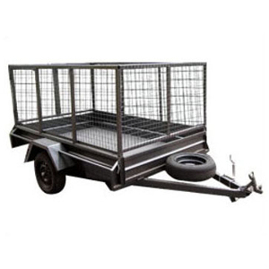 Trailer – 7×4 Cage – Swing Gate
