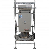 Portable Hot Water Service on Trolley – Gas – Shower